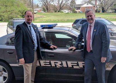 Congressman Mark Meadows and Sheriff Robert Holland