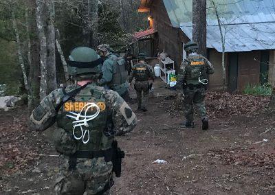 Macon County Sheriff's Dept executing Operation Thunder Struck